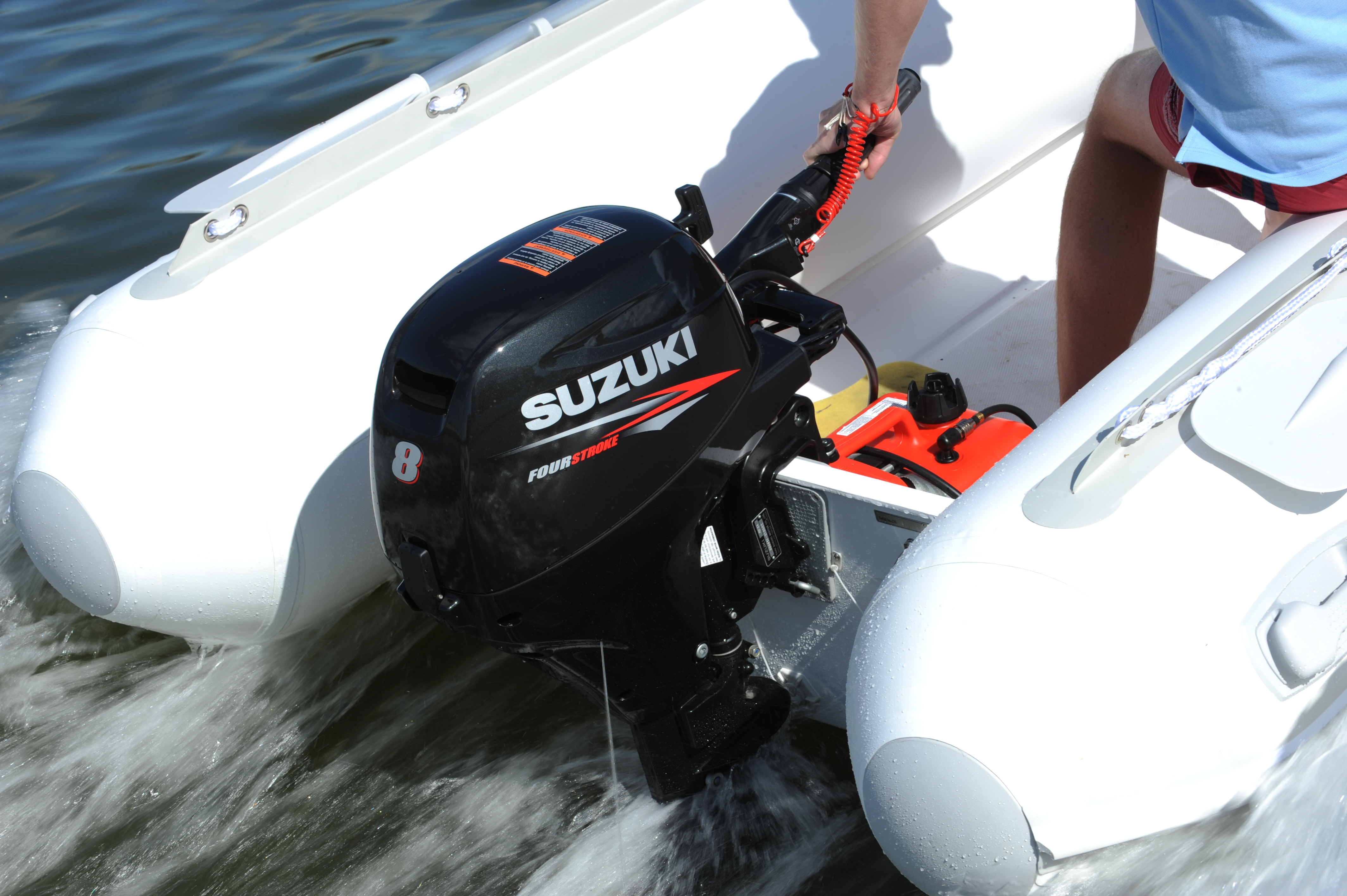 лодочный мотор сузуки 5 на пвх